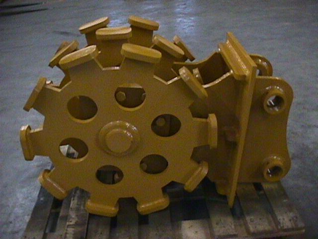 Compaction wheel 1