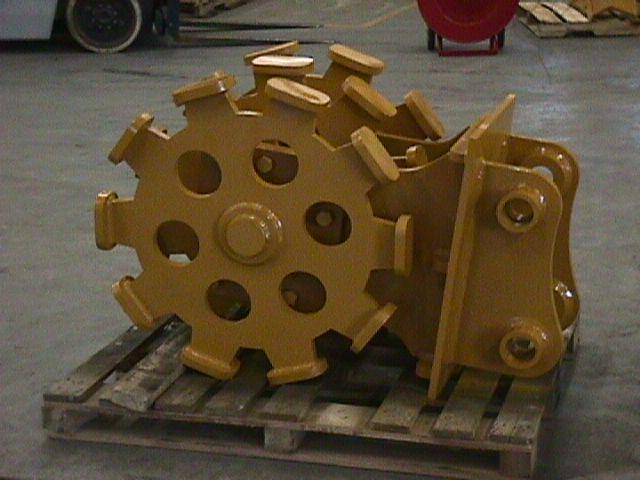 Compaction wheel 3