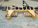 DR-92-8-5X5 Dozer Rake outside USA Attachments