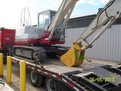 """18\"""" excavator bucket by USA Attachments installed on a Takeuchi TB175"""