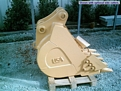 "36"" excavator bucket for most machines 24,000 to 33,000 lb machines"
