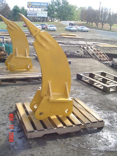 Excavator frost ripper 1