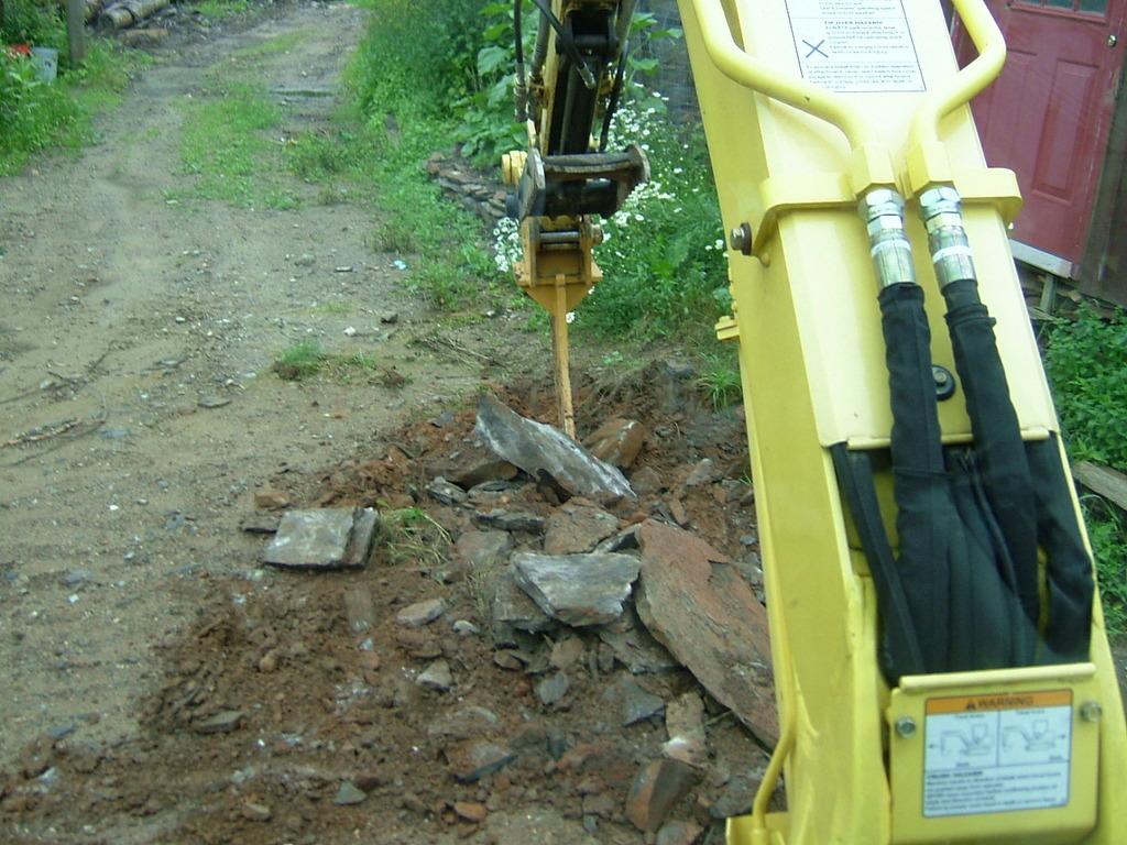 Excavator frost ripper 6