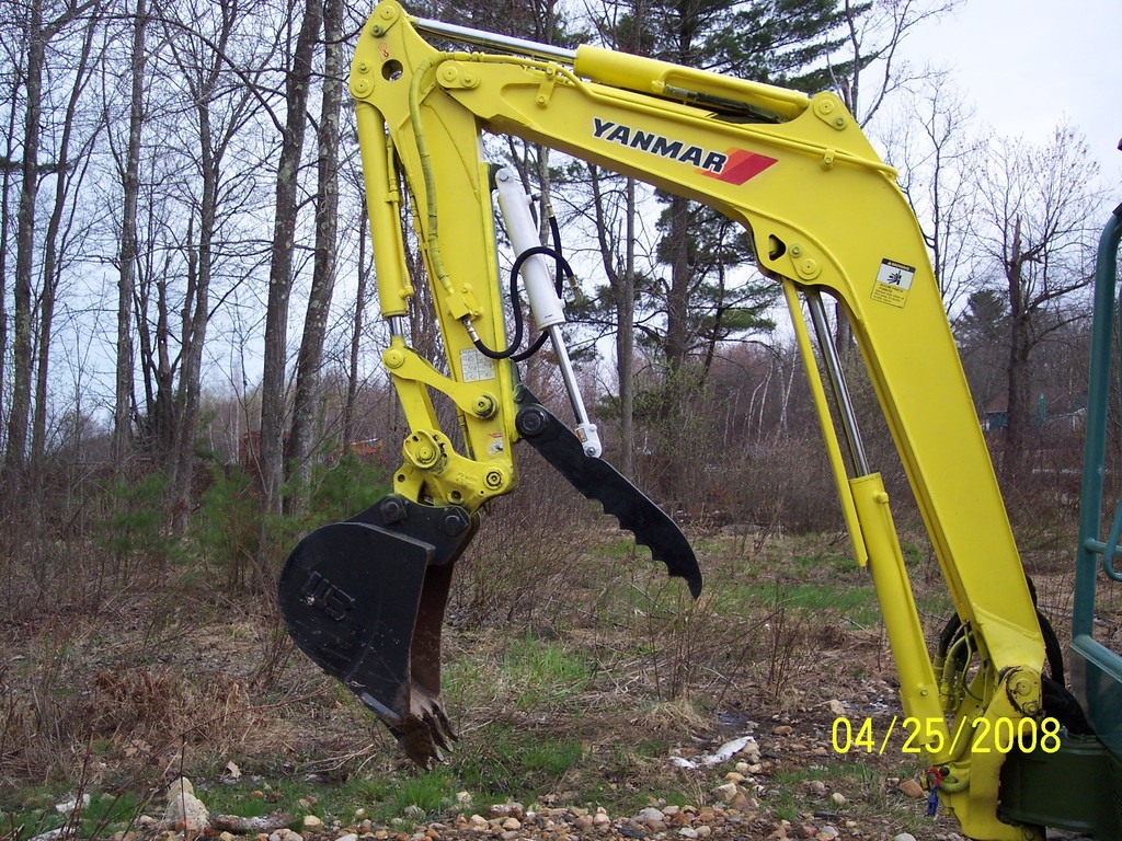 Yanmar VIO 35 mini excavator with 8\