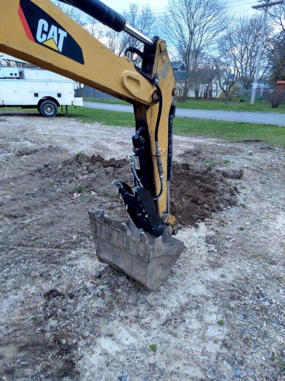Ht830 hydraulic excavator thumb 115
