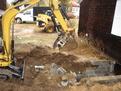 ht830 hydraulic excavator thumb 105