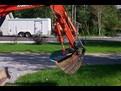 KUBOTA mini excavator KX61-2 with HT830 hydrualic mini excavator thumb