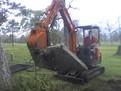 ht830 hydraulic excavator thumb 55