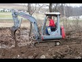 TAKEUCHI TB025 with HT30 Hydraulic mini excavator thumb