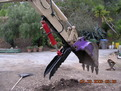 Hydraulic HT830 hydraulic excavator thumb by USA Attachments
