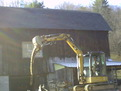 CAT 303.5C CR with 8\&quot; x 30\&quot;  mini excavator thumb installed by USA Attachments