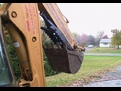 MT1035 excavator thumb folded in the closed position