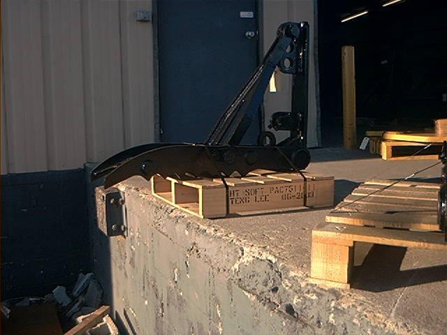 MT1240 excavator thumb ready to ship.