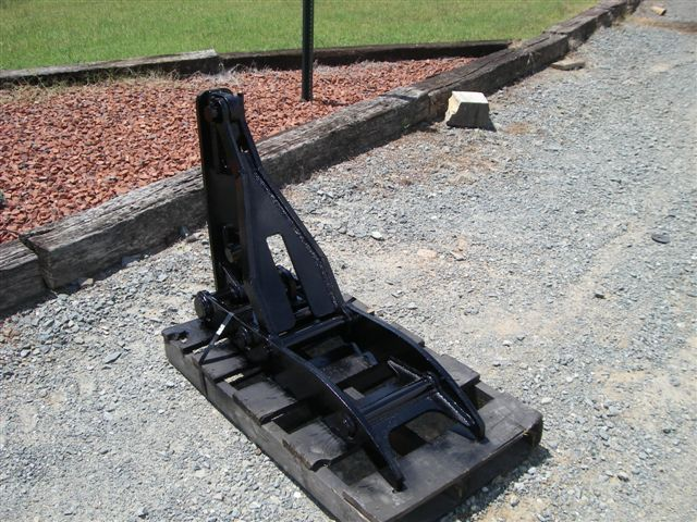 MT1240 backhoe excavator thumb in black