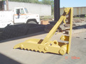 "12"" x 40\"" mechanical excavator, backhoe thumb"