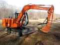 MT1240 excavator thumb on a HITACHI EX60 excavator