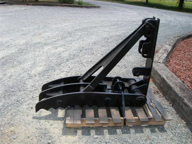 mt1850 excavator thumb side profile
