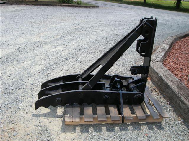 Mt1850 excavator thumb side profile