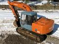 MT1850 excavator thumb installed on a HITACHI EX120