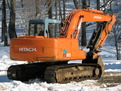 "hitachi ex120 excavator with USA Attachments mt1850, 18""x50"" thumb"