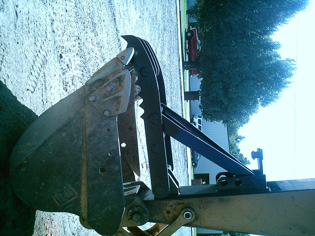MT2458 welded on an excavator