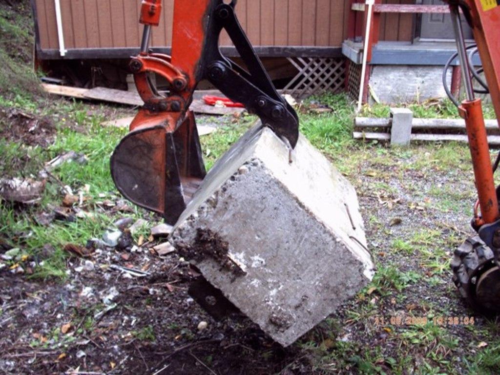 Kubota KH-41 excavator with 6