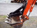 "6""x18\"" mini excavator thumb on a Kubota t5c mini excavator"