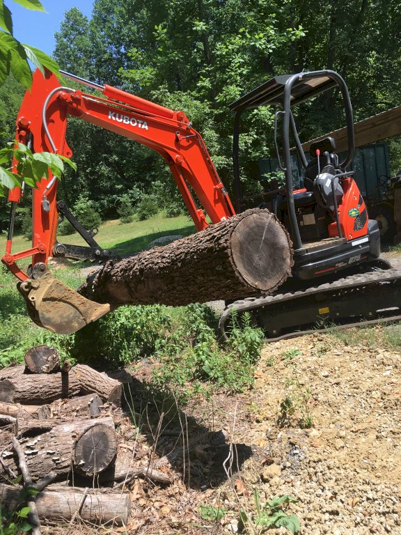 Mt824 min excavator thumb on kubota u25 super series
