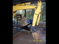MT824 mini excavator thumb welded on a machine