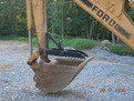 FORD backhoe with mini thumb MT830