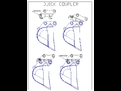 Quick Coupler Line Drawing PGC105