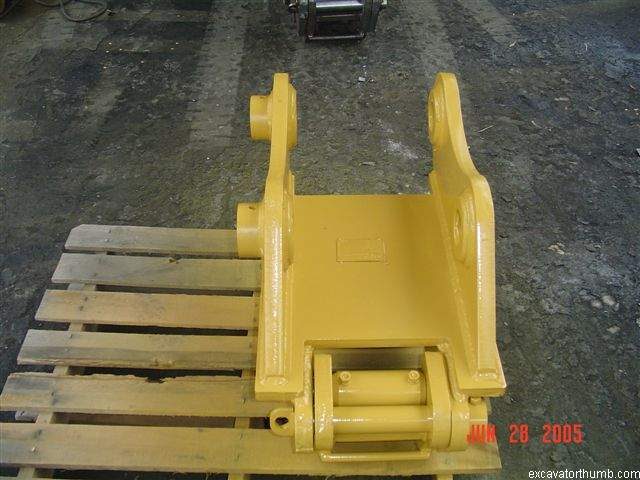 PGC-135 excavator quick coupler by USA Attachments. It is built to the unique specifications of your excavator.