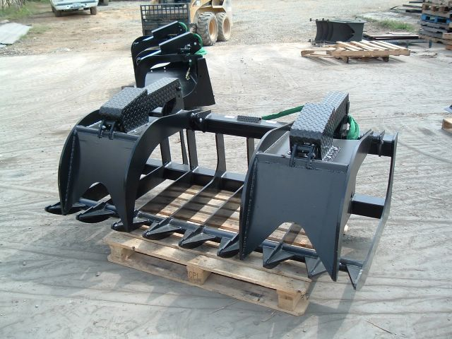 Skid steer xtreme root grapple 3