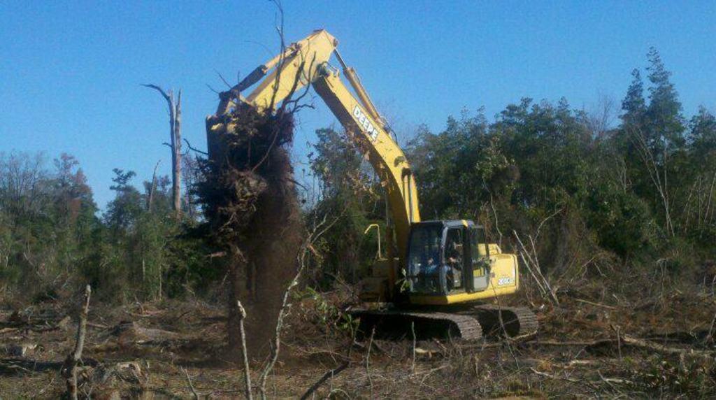 excavator tree stumper for 40 50k machine 13