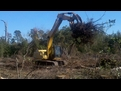 excavator tree stumper for 40 50k machine 12
