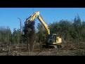 excavator tree stumper for 40 50k machine 13