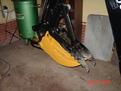 small excavator tree stumper 10