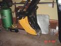 small excavator tree stumper 9